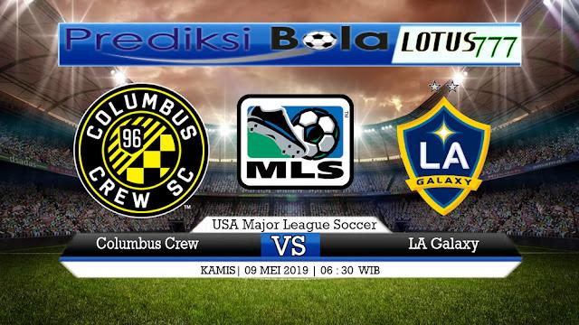 PREDIKSI Columbus Crew vs LA Galaxy 09 MEI 2019