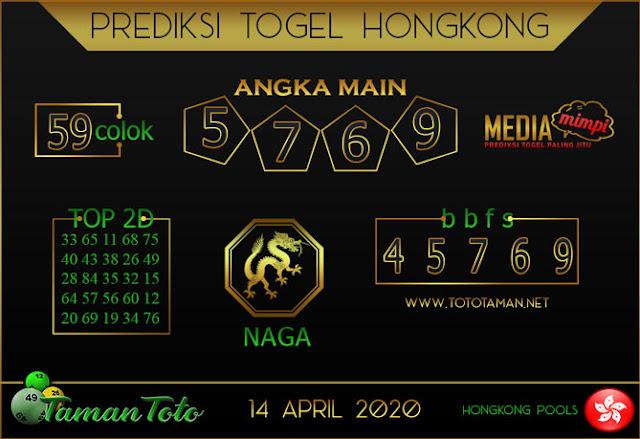 Prediksi Togel HONGKONG TAMAN TOTO 14 APRIL 2020