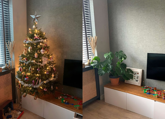 Kerstboom Opgeruimd