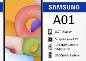 Firmware + Cara Flash Samsung A01 SM-A015F