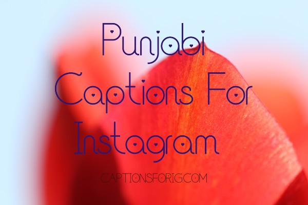 Punjabi-Instagram-Captions