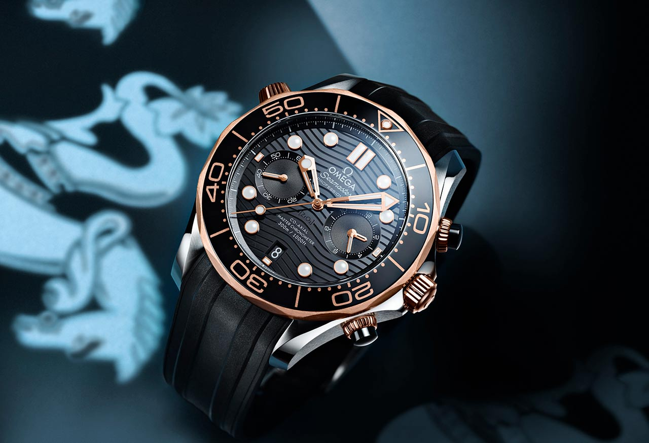 Omega seamaster diver 300m chronograph time and watches for Omega diver