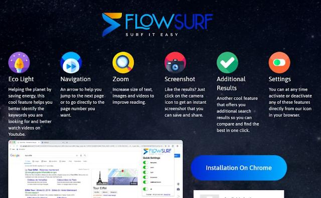 redirecciones a Getflowsurf.net