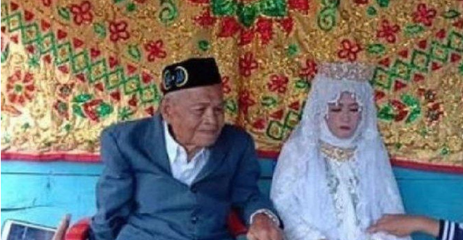 103-Year-Old Elderly Man Impregnates & Marries 27-Year-Old Woman