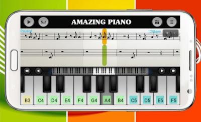 تطبيق Walk Band للعزف على البيانو يوفر دروسًا تعليمية حتى تتمكن من معرفة كيفية استخدام هذه الميزات الأساسية بسهولة