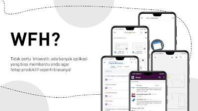 Aplikasi Untuk Kerja dari Rumah WFH