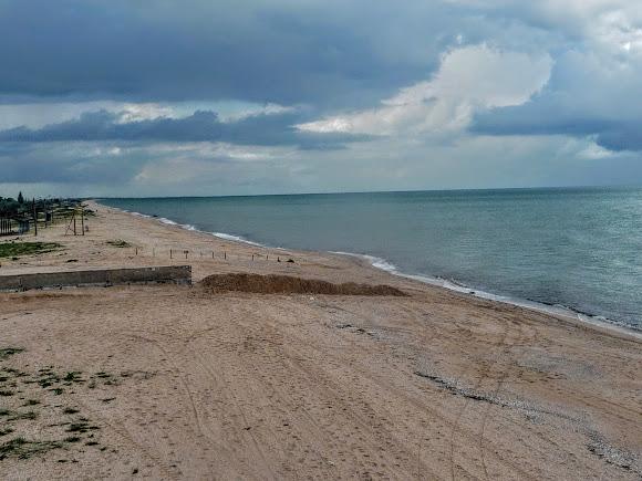 Арабатская стрелка. Пляж