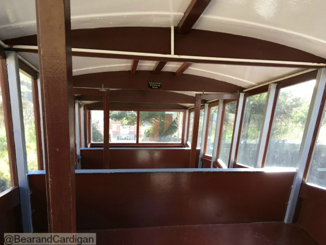 inside of carriage