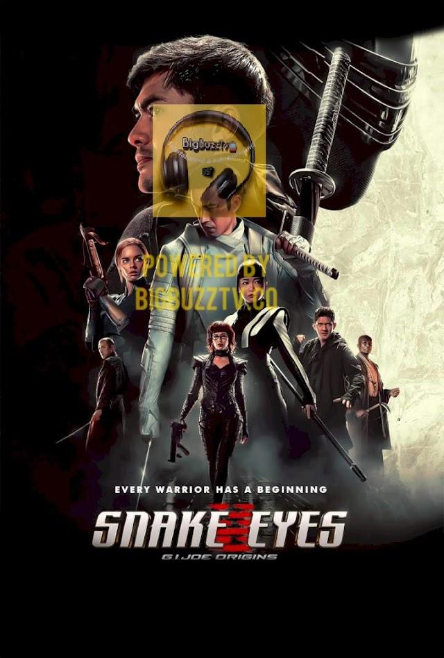 SNAKE EYES 2021 G.I. JOE