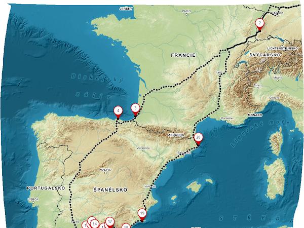 Andalusie karavanem v zimě (na kolik to vyjde?)