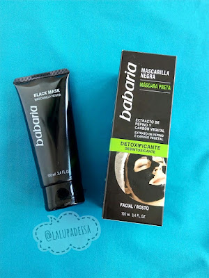 Review Mascarilla negra de babaria