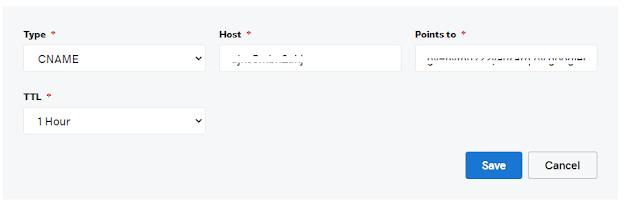 Setup GoDaddy Custom Domain On Blogger | CNAME 2