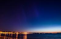 Bangor, północne rejony Irlandii. Ekspozycja 8 sekund (!). Druga połowa zmierzchu żeglarskiego. Credit: Noel Blaney
