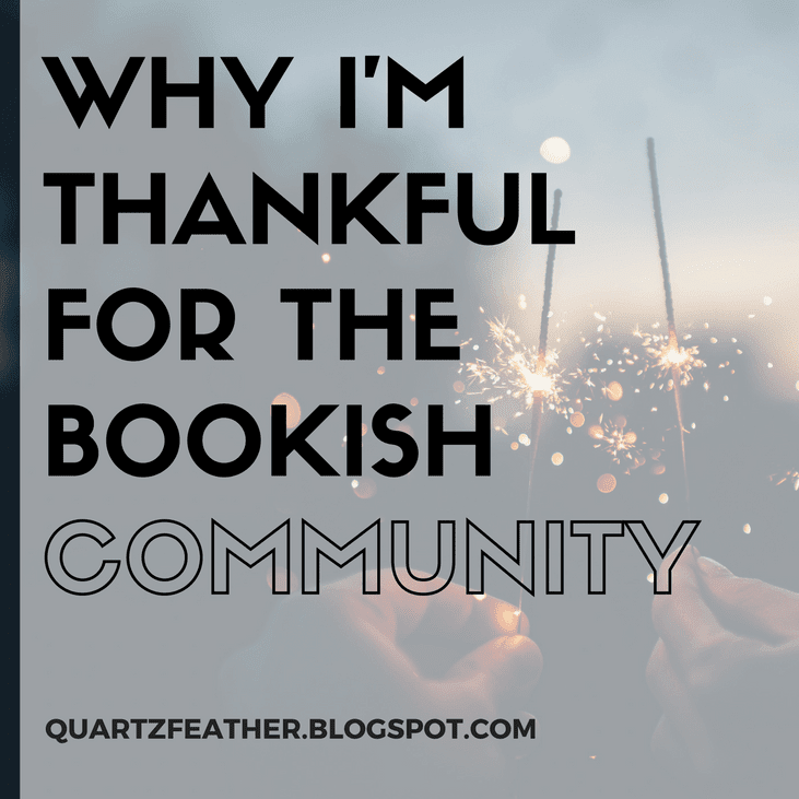 Why I'm Thankful for the Bookish Community