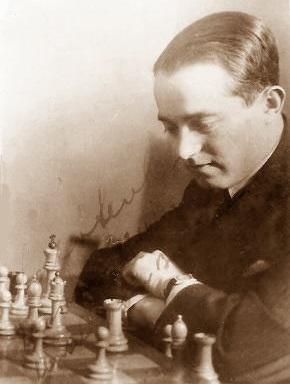 El ajedrecista Salomon Mikháilovich Flohr