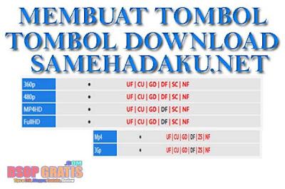 Cara Membuat Tombol Download di Blog Seperti Samehadaku.net