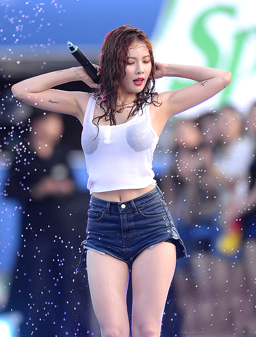 In 2010, Hyuna began a solo career with a style she described as 'performance-oriented music'.