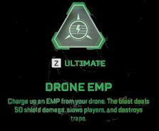 Drone EMP Apex legends Crypto ultimate abilities