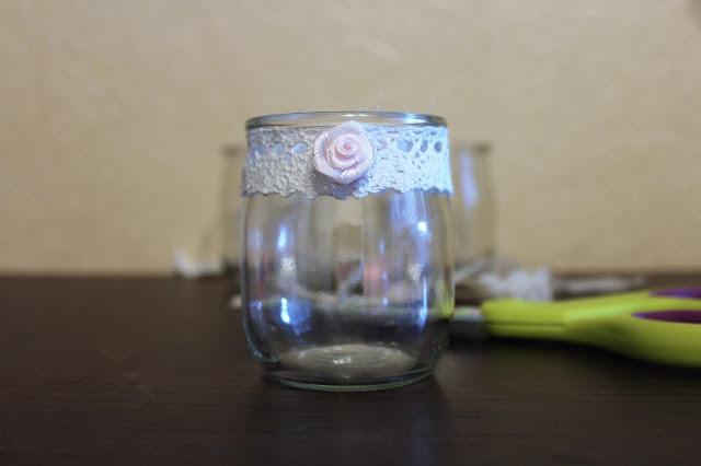 jak zrobić świeczniki ze słoików