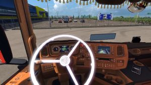 Vabis Steering wheel for Scania 2016 R&S