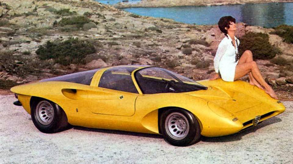 Alfa romeo tipo 33 stradale replica 8