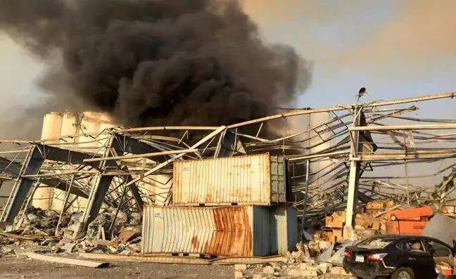 Beirut, Massive explosion in the Lebanese