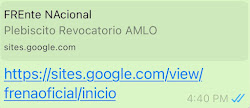 🇲🇽Registro para Plesbiscito Revocatorio de AMLO!   👉