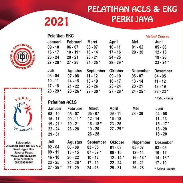 Pelatihan EKG PERKI Jakarta Tahun 2021