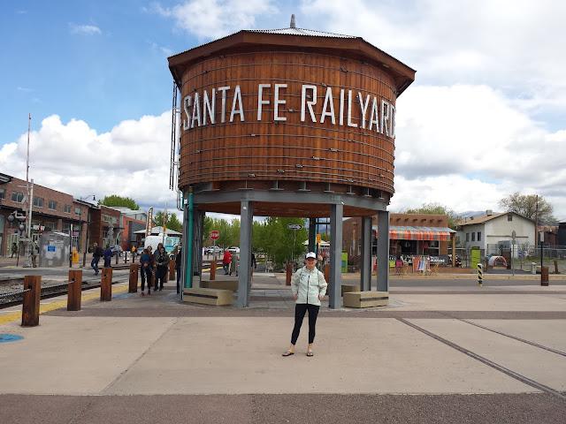 Early Morning Run - Santa Fe Railyard