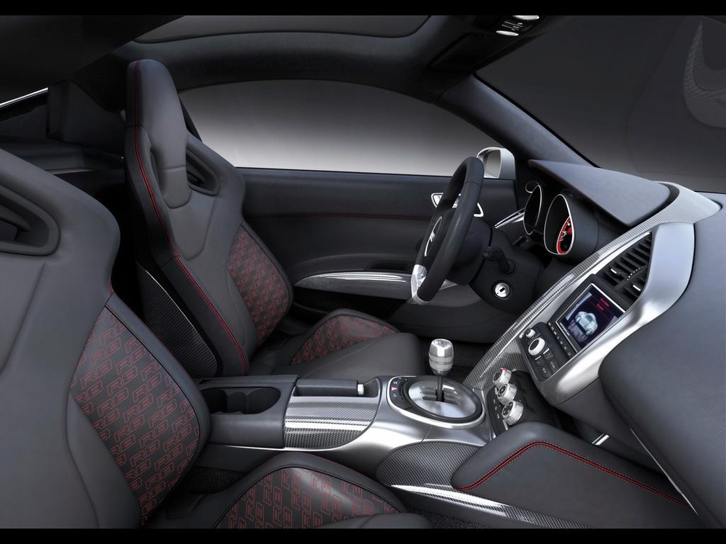 International Fast Cars Audi r8 Interior