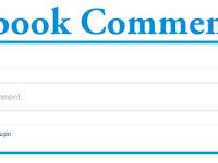 Cara Memasang Facebook Comment Box di Blogger - Kotak Komentar