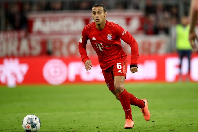Thiago puts his house in Germany up for sale ahead of Liverpool move