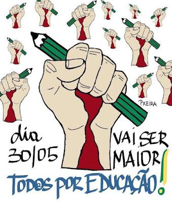 Manifestações Contra Cortes na Educação - 30 de Maio de 2019 - Blog do Asno