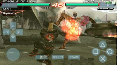 Game Tekken 6 ISO / CSO PPSSPP For Android