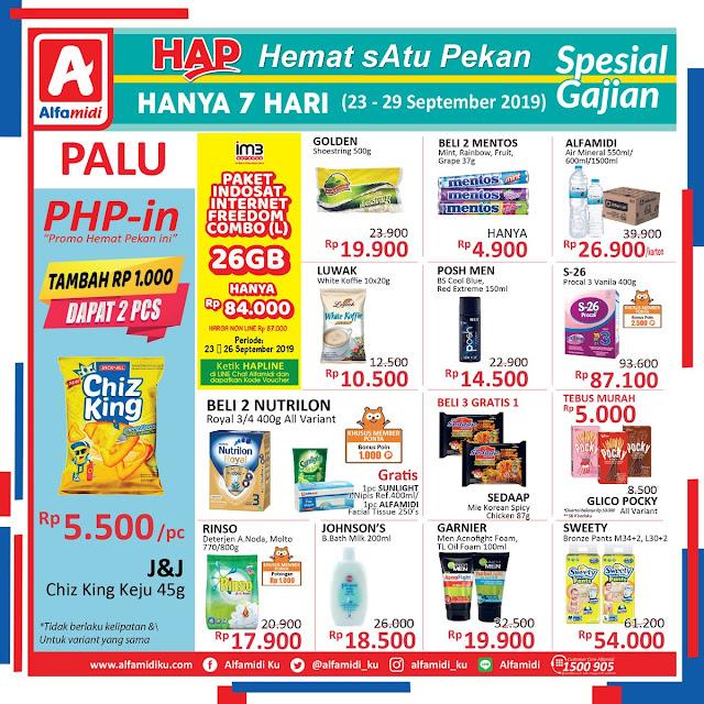 #Alfamidi - #Katalog Promo Hemat Satu Pekan Periode 23 - 29 Sept 2019