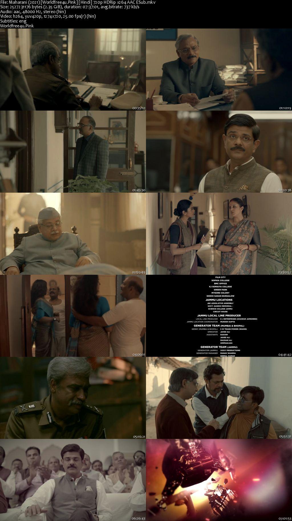 Maharani 2021 (Season 1) All Episodes HDRip 720p