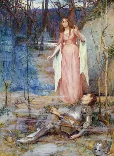 La Belle Dame sans Merci, inspiration pour Yeats