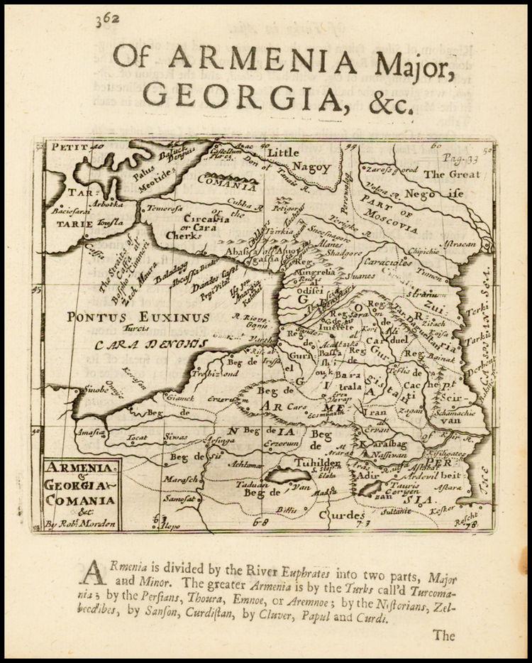 историческая карта кавказа 17 века, адыгов на карте нет, кабардинцев на карте нет