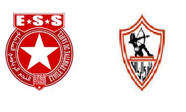 مباراة النجم الساحلي التونسي الزمالك المصري اليوم 28-04-2019 نصف نهائي كأس الكاف