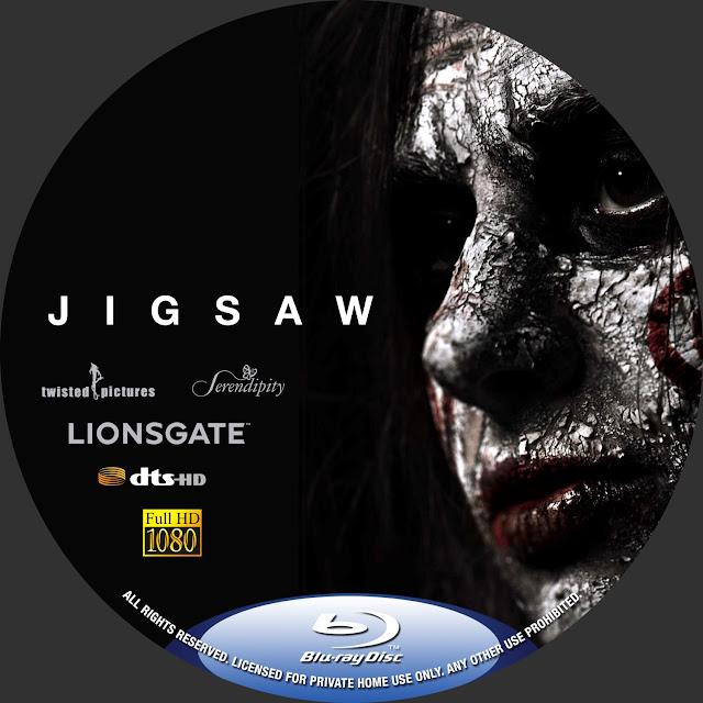 Jigsaw Bluray Label
