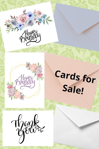 Cards for Sale!