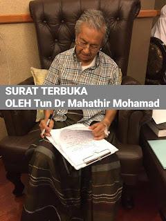 Surat Terbuka Oleh Mahathir Kepada Seluruh Warga Malaysia