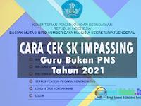 Cara Cek SK Impassing Guru Bukan PNS Tahun 2021