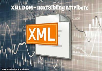 XML DOM - nextSibling Attribute