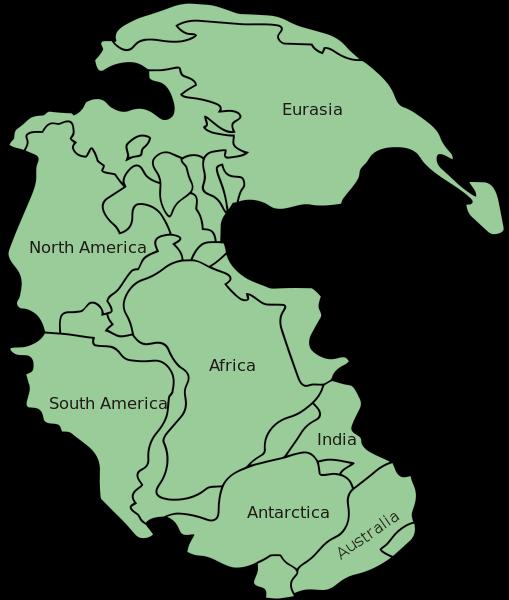 Así se veía la Tierra hace 300 millones de años: Pangea