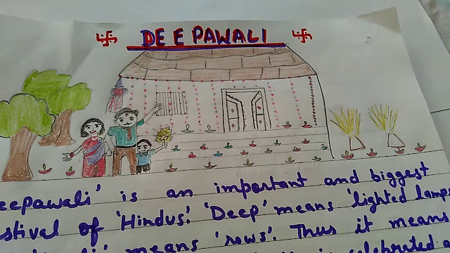 Diwali Essay In English 150 Words