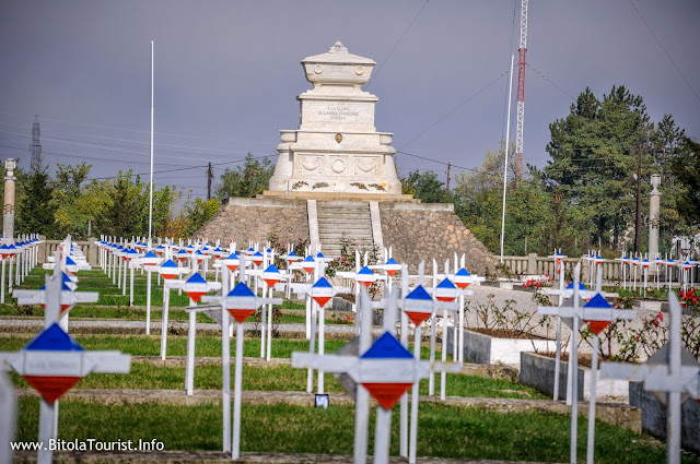 French military cemetery in Bitola - Bitola Cimetière Militaire Français