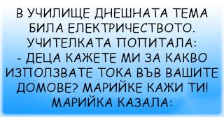 ВИЦОВЕ | В училище днешната тема била електричеството