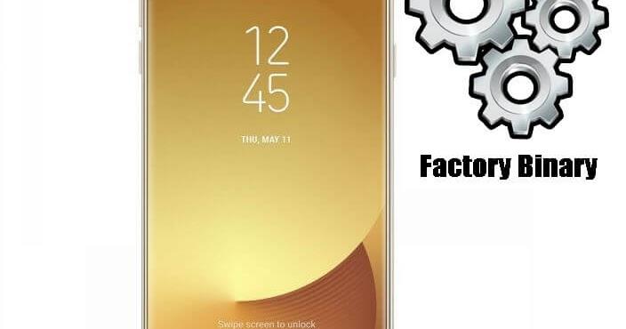 Samsung Galaxy J7 Pro SM-J730F Combination Firmware