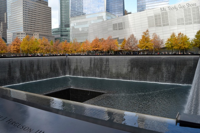 9/11 Memorial, New York City --- Ms. Toody Goo Shoes